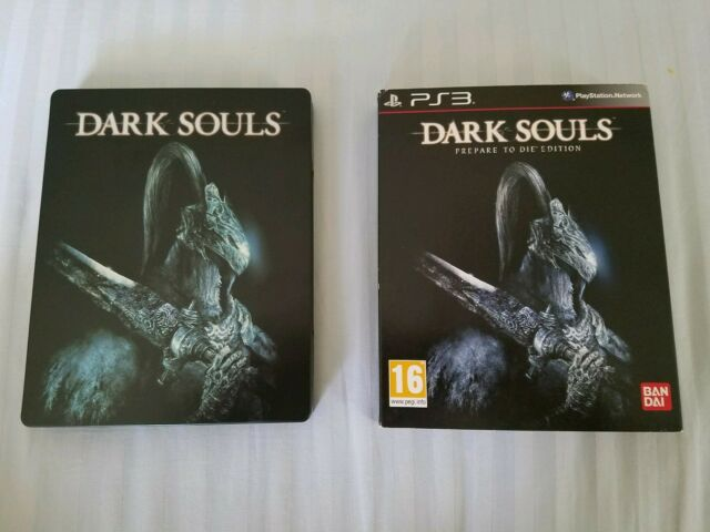 RARE Dark Souls Prepare To Die Edition UK Steelbook PlayStation 3 PS3 US Seller