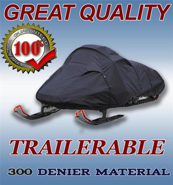 Trailerable Snowmobile Snow Machine Sled Cover Ski-Doo Summit X E-TEC 800R 154 2011 2012 2013 2014 2015