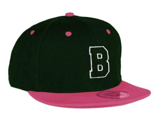 Youth Kids Hat Boy Girl Snapback Plat Rose Visiere casquette de baseball A-Z Alphabet