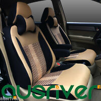 Premium 4 Colour Custom Made Car Seat Covers Set For 5 Seats For Mazda Honda Kia
