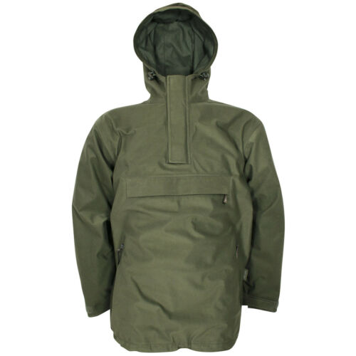 Jack Pyke Galbraith Smock Waterproof Jacket Mens Hunting Hooded Coat Moss Green