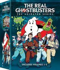 The Real Ghostbusters Volume 1 + 2 + 3 + 4 + 5 Vol Season Series New DVD