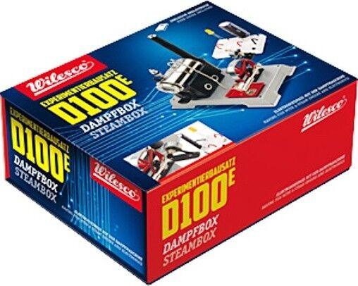 WILESCO   D 100E DAMPFBOX  Experimentier-Bausatz  | Sehr gute Farbe
