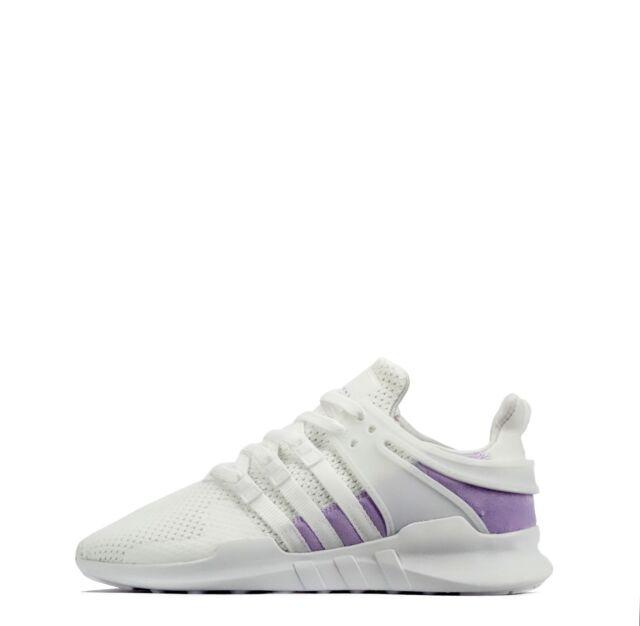 adidas Originals EQT Support ADV Women s Lightweight Casual Shoes  White Purple dda5f6254