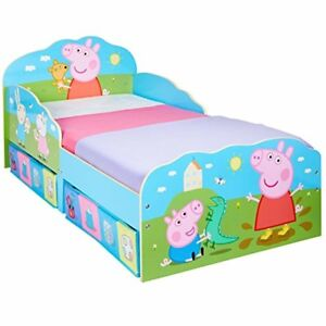 Image Is Loading Peppa Pig Toddler Bed With Underbed Storage Kids