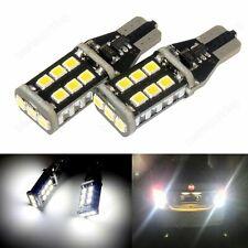 T15 W16W CANBUS 921 LED Tail Reverse Parking Light Bulbs White No Error 2PCS UK