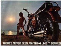 1969 Bsa Rocket 3 750cc 3 Cylinder Motorcycle Sales Brochure (reprint) $11.00
