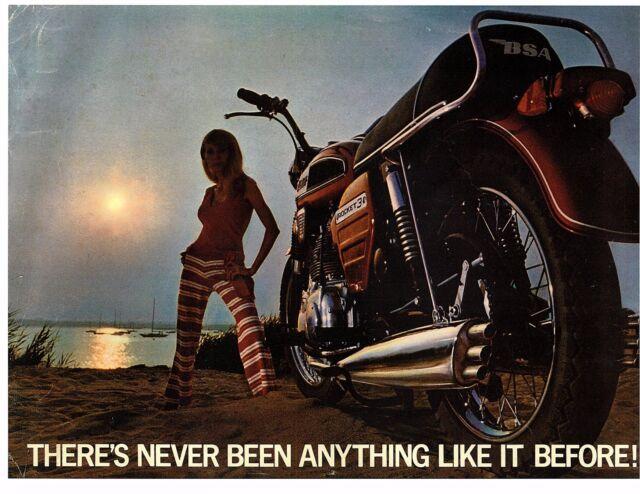 1969 BSA Rocket 3 750cc 3 cylinder motorcycle sales ...