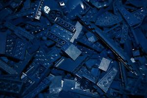 1-100-POUNDS-Dark-Blue-LEGOS-Mix-bulk-lot-lbs-city-Parts-Pieces-Bricks