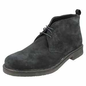 Hommes Leather London Bottes Base Daim Rufus 6qf6ErxP