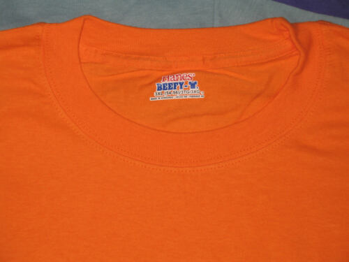 Hanes Beefy T Shirt Mens Short Sleeve Tee Crew Neck Choose 2X 3X Color NWOT