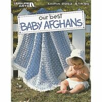 Leisure Arts Our Best Baby Afghans Book, New, Free Shipping on sale