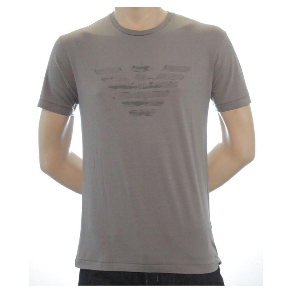 Armani Jeans Herren Grau H S T-Shirt - Sz XXL   Eu 54  UK 44 Neu mit Etikett