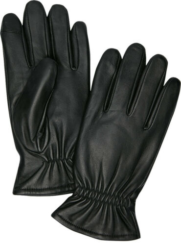 Details about  /jos a bank mens lambskin leather gloves .WINTER WARM 3M Thinsulate touchscreen