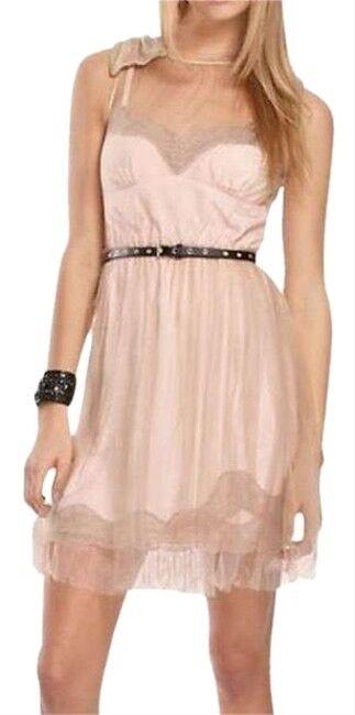 Rodarte (New) Nude Nude Nude bluesh Limited Edition Dress Size S a3fae6