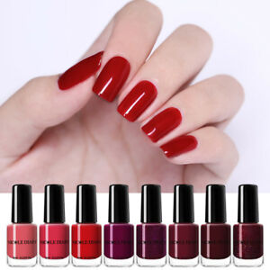 NICOLE-DIARY-6ml-Red-Nail-Polish-Tips-Nail-Art-Varnish-Peel-Off