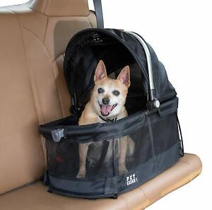 Pet-Gear-VIEW-360-Dog-Cat-Pet-Carrier-Car-Seat-in-One-Black