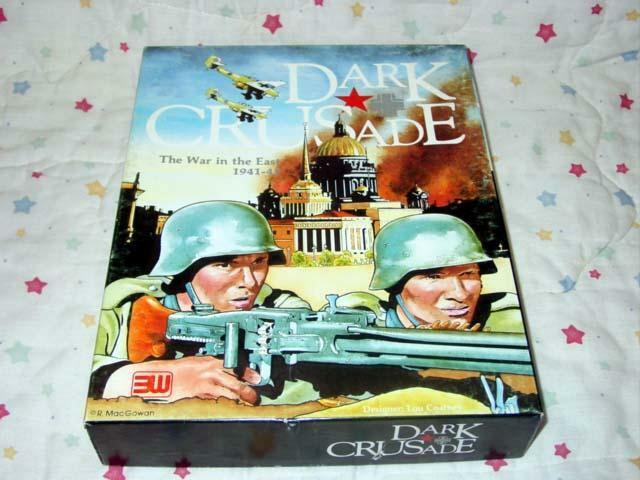 3W 1994 - DARK CRUSADE game -  The War in the East 1941-45 on the Russian Front