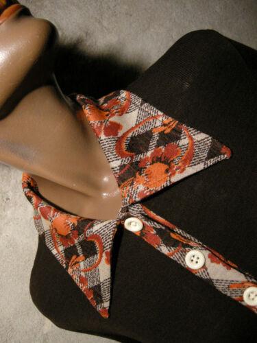 Vestito Chic Abito '70 70s 38 Maglia 1970 70 Kleid Anni 40 Vintage q5UfR