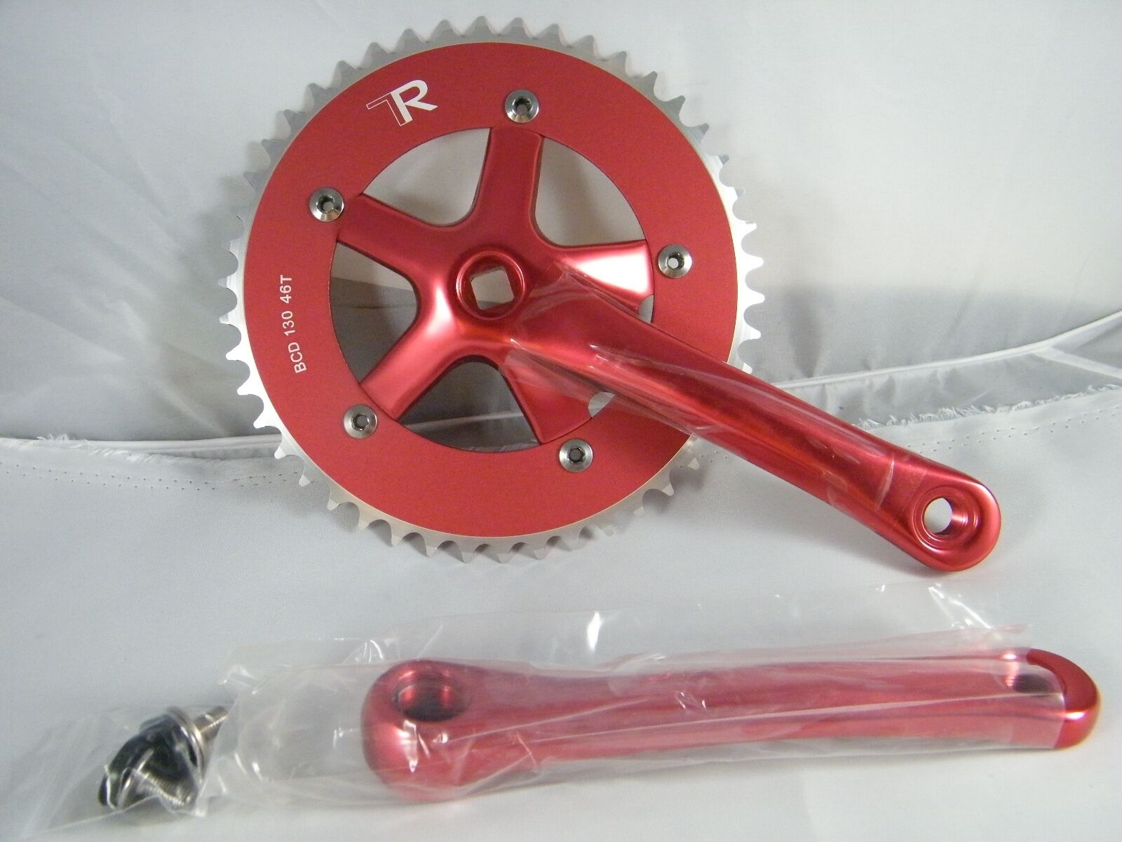 NEW  DRIVELINE CRANKSET  TK13 170 MM RED PART DL-TK-170-RD,  BCD 130  46T  wholesale cheap and high quality