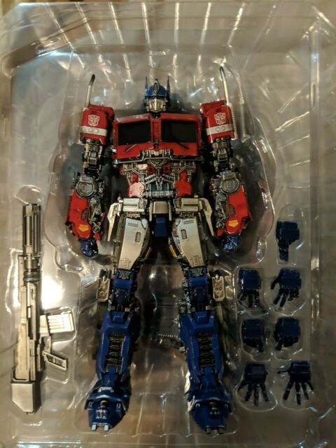 ThreeZero 3A DLX Optimus Prime Transformers Bumblebee Hasbro Complete