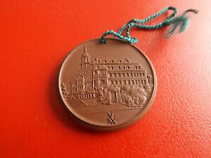 *meissen Porzellan Medaille 1980 *gemeinde Lichtenwalde*ca.40mm (schub5)