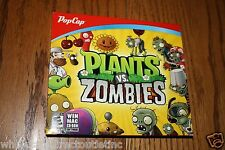 Pop Cap Plants Vs. Zombies Win Mac CD-Rom From the makers of bejeweled New