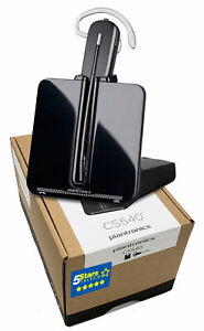 Plantronics CS540 Wireless Headset (84693-01) Brand New, 1 Year Warranty