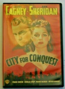 City-For-Conquest-DVD-1940-Film-James-Cagney-Ann-Sheridan
