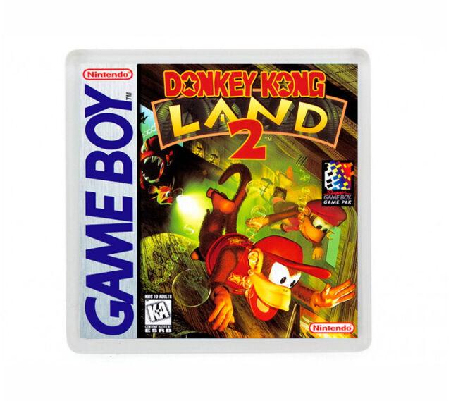 DONKEY KONG LAND II NINTENDO GAME BOY FRIDGE MAGNET IMAN NEVERA