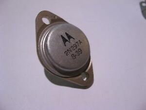 Qty-2-Motorola-2N297A-PNP-Germanium-Ge-Transistors-Vintage-NOS