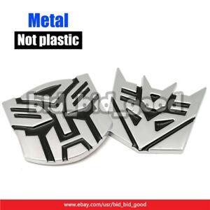 Transformers-Autobots-Decepticons-3D-Logo-Alloy-Metal-Decal-Car-Sticker-Emblem