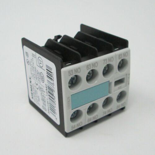 SIEMENS 3RH1911-1GA40 Hilfsschalterblock Kontaktmodul 6 A #SK-19-7