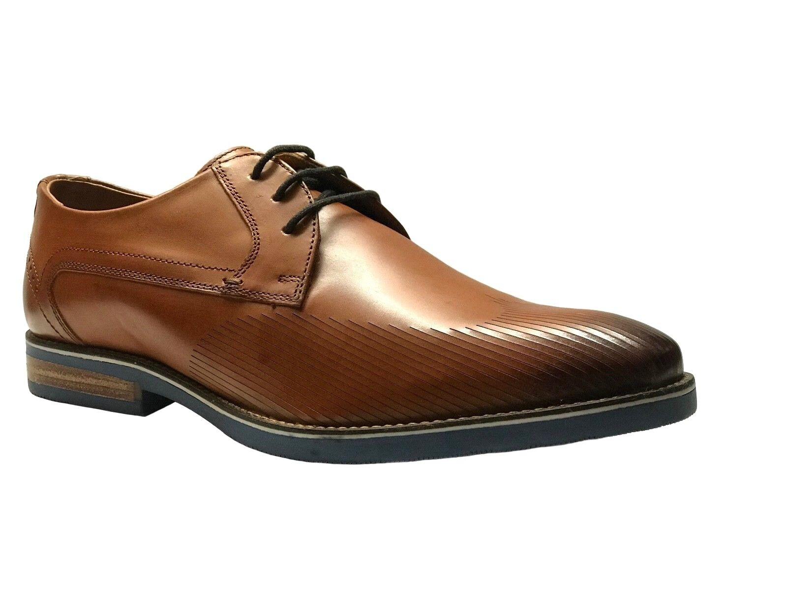 Giorgio Brutini Kane Men's Oxford Tan Leather Dress shoes  251254