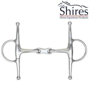 Shires Full Cheek French Link Snaffle