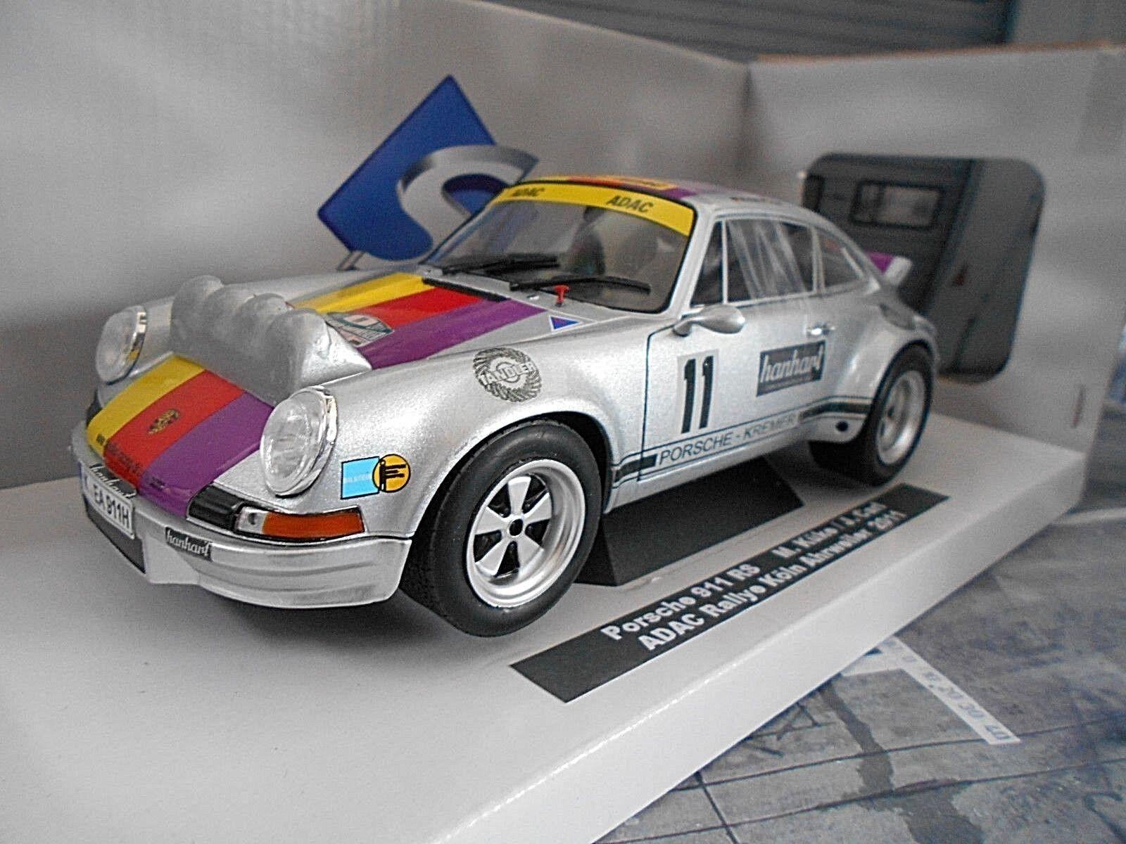 Porsche 911 Carrera RS 3.0 küke Cologne Ahrweiler Rally Kremer Conversion 1 18