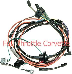 image is loading 1974-corvette-air-conditioning-ac-wiring-harness-new