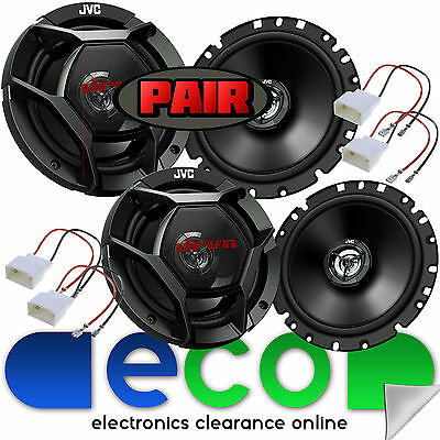 Ford Mondeo MK4 2007-2014 1320 Watts 5 Door Front /& Rear Car Speaker Upgrade Kit