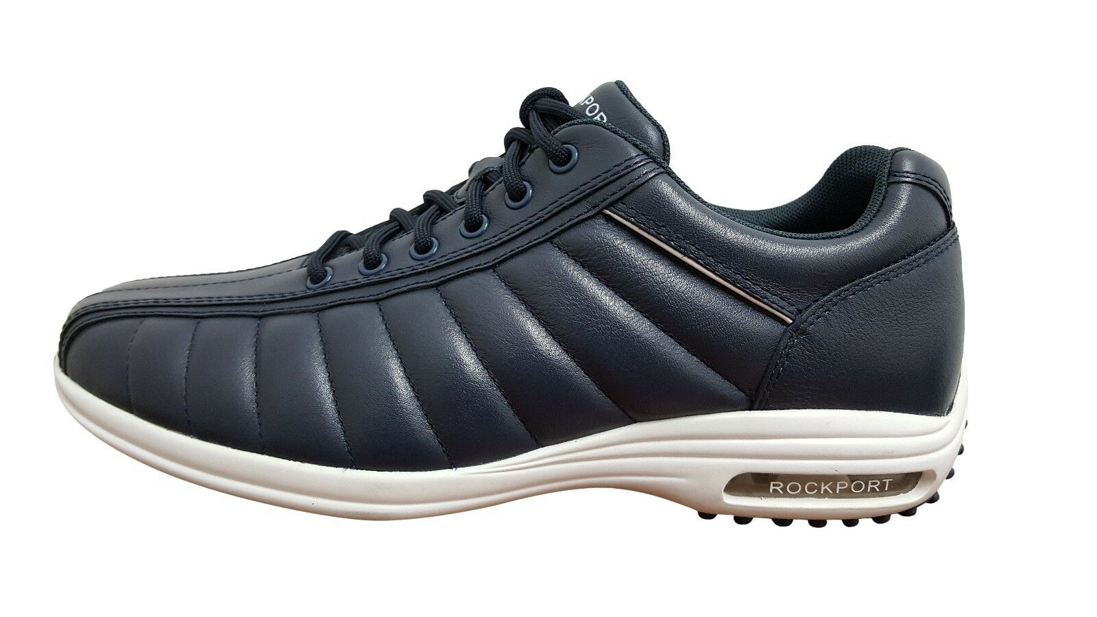 Rockport CR Bike Toe Quilted Navy Quilted Toe (V80145) 15d96f