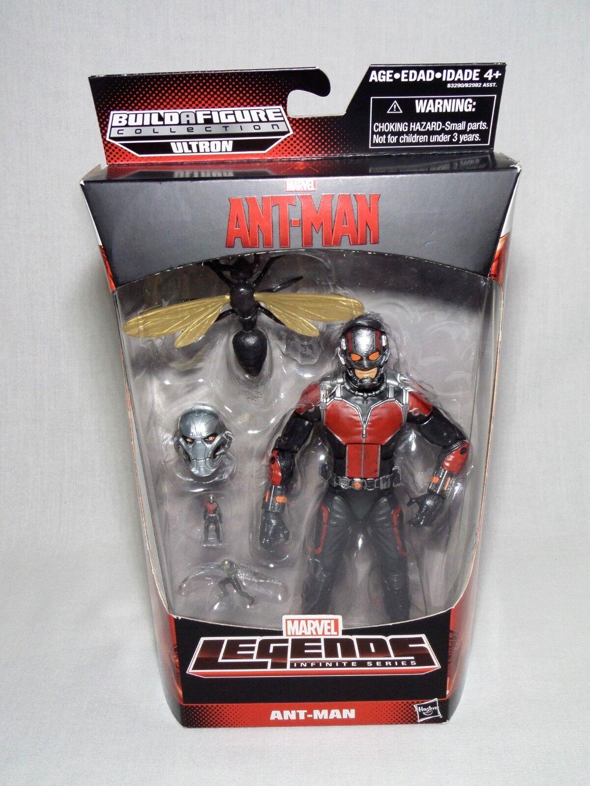 MARVEL LEGENDS Infinite Series ANT MAN -Ultron Build a Figure-