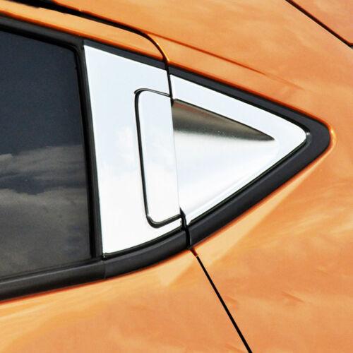 Chrome Rear Door Bowl Cover Tail Gate Handle Trim For Honda HR-V HRV Vezel 16-19