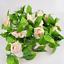 7-7ft-Artificial-Silk-9-Rose-Flower-Vine-Leaf-Garland-Wedding-Party-Home-Decor thumbnail 8
