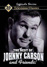 The Best of Johnny Carson (DVD, 2010, 4-Disc Set, Tin Case) FREE SHIPPING