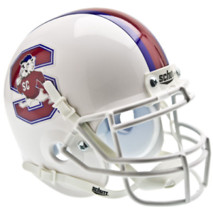 FRESNO STATE BULLDOGS NCAA Schutt XP Authentic MINI Football Helmet