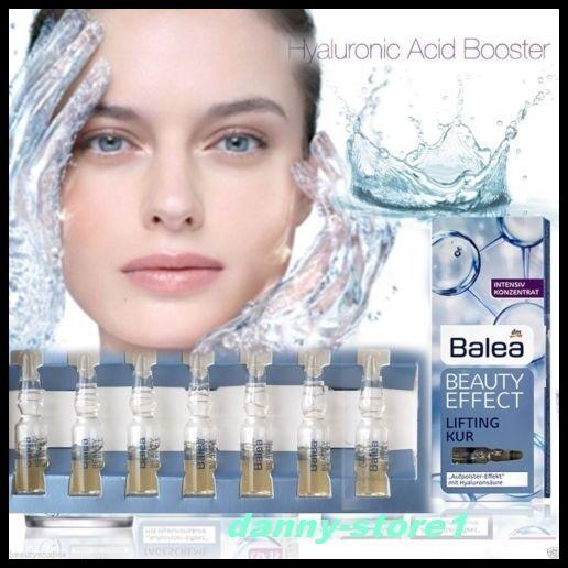 Balea Beauty Effect Lifting Treatment Serum 7x1ml Hyaluronic Acid Ampoules