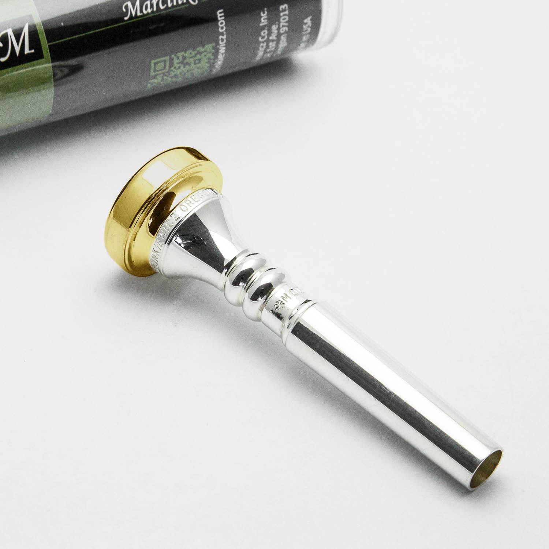 24K Gold Rim /& Cup Marcinkiewicz Cornet Mouthpiece 3C