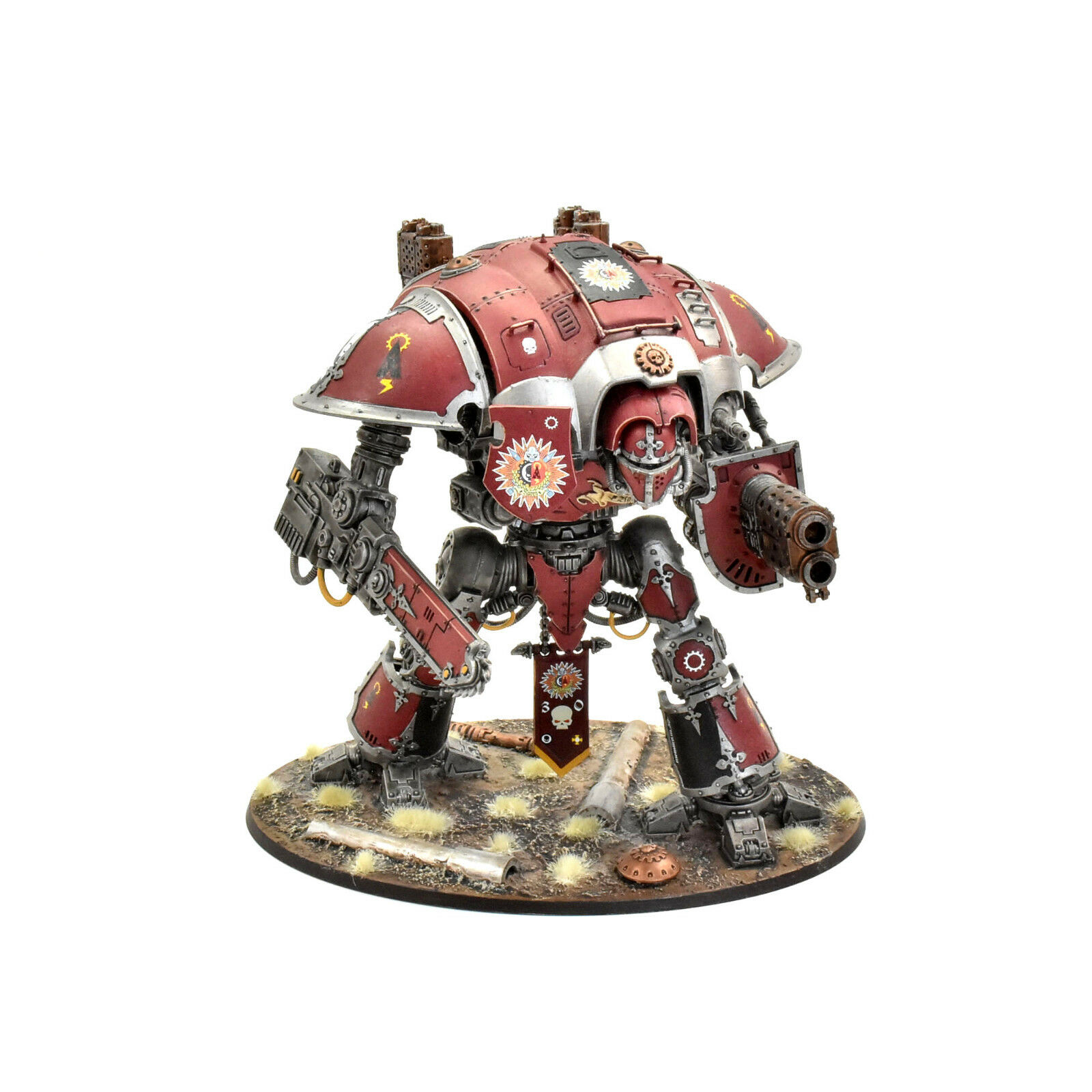 IMPERIAL KNIGHTS Knight Errant  2 WELL PAINTED  Warhammer 40K adeptus mechanicus  meilleure vente