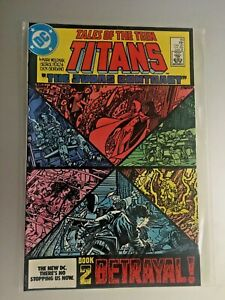 Tales of the Teen Titans Comic Book #43 DC Deathstroke 1984 NEAR MINT UNREAD