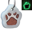 Glitter-Paw-Print-Pet-ID-Tags-Custom-Engraved-Dog-Cat-Tag-Personalized thumbnail 29