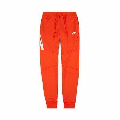 BNWT TN TECH FLEECE POLY RED NIKE AIR MAX PANTS BOTTOMS JOGGERS SLIM FIT  MEN | eBay